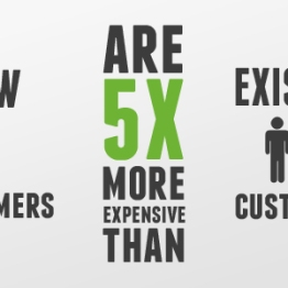 There are countless estimates all over the internet about the cost of acquiring a new customer vs. taking care of your existing customers.  Trust me, it costs more to acquire new.