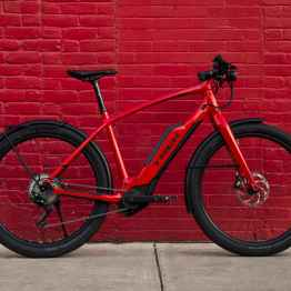 Current Trek Supercommuter ebike. Available now at a Trek retailer near you.